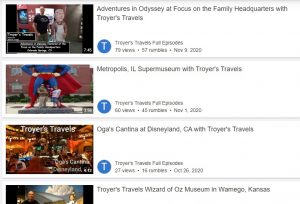 Troyer's Travels